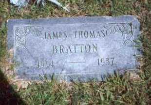 BRATTON, JAMES THOMAS - Meigs County, Ohio | JAMES THOMAS BRATTON - Ohio Gravestone Photos