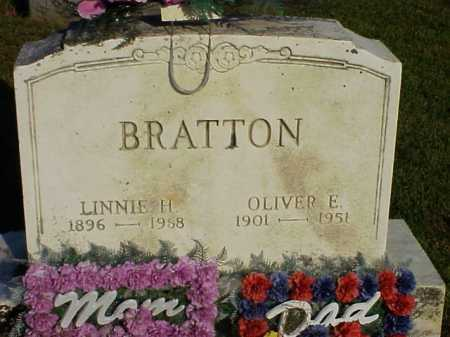 BRATTON, LINNIE H. - Meigs County, Ohio | LINNIE H. BRATTON - Ohio Gravestone Photos