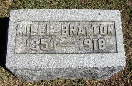 CHANEY BRATTON, MILLIE - Meigs County, Ohio | MILLIE CHANEY BRATTON - Ohio Gravestone Photos