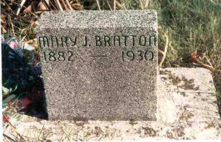 BRATTON, MARY JEWELL - Meigs County, Ohio   MARY JEWELL BRATTON - Ohio Gravestone Photos