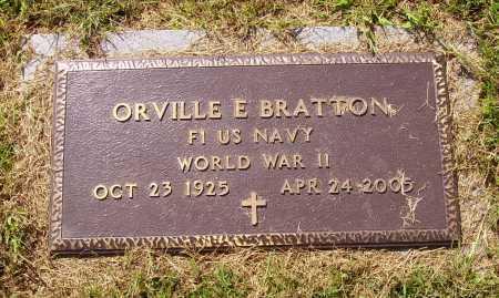 BRATTON, ORVILLE - MILITARY - Meigs County, Ohio   ORVILLE - MILITARY BRATTON - Ohio Gravestone Photos
