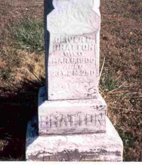 BRATTON, OLIVER C. - Meigs County, Ohio | OLIVER C. BRATTON - Ohio Gravestone Photos