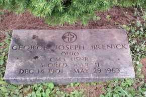 BRENICK, GEORGE - Meigs County, Ohio   GEORGE BRENICK - Ohio Gravestone Photos