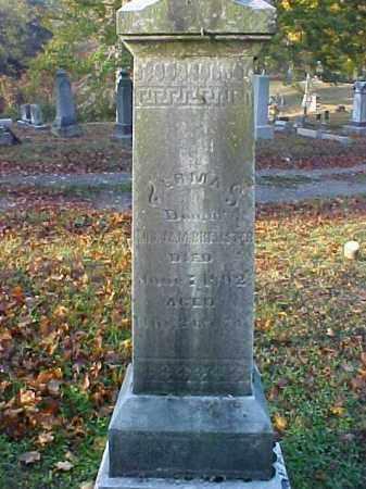 BREWSTER, ERMA - Meigs County, Ohio   ERMA BREWSTER - Ohio Gravestone Photos
