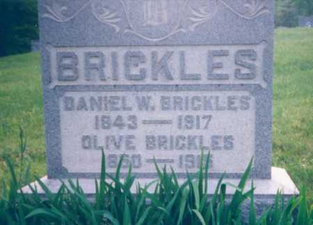 CARSEY BRICKLES, OLIVE - Meigs County, Ohio | OLIVE CARSEY BRICKLES - Ohio Gravestone Photos