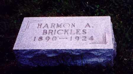 BRICKLES, HARMON A. - Meigs County, Ohio | HARMON A. BRICKLES - Ohio Gravestone Photos