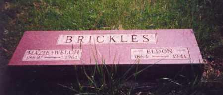 BRICKLES, MAZIE - Meigs County, Ohio | MAZIE BRICKLES - Ohio Gravestone Photos