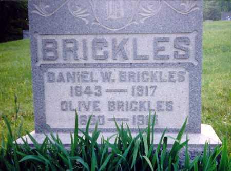 BRICKLES, OLIVE - Meigs County, Ohio | OLIVE BRICKLES - Ohio Gravestone Photos