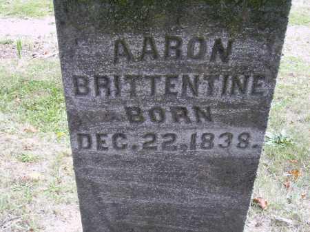 BRITTENTINE, AARON - Meigs County, Ohio   AARON BRITTENTINE - Ohio Gravestone Photos