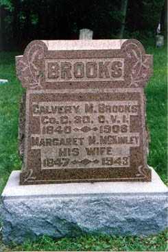 MCKINLEY BROOKS, MARGARET - Meigs County, Ohio   MARGARET MCKINLEY BROOKS - Ohio Gravestone Photos