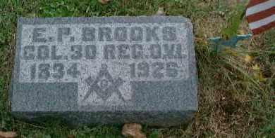 BROOKS, COL. EMMERSON P - Meigs County, Ohio | COL. EMMERSON P BROOKS - Ohio Gravestone Photos
