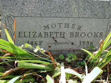BROOKS, ELIZABETH - Meigs County, Ohio   ELIZABETH BROOKS - Ohio Gravestone Photos