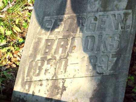 BROOKS, GEORGE W. - Meigs County, Ohio | GEORGE W. BROOKS - Ohio Gravestone Photos