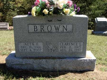BROWN, CLARENCE L. - Meigs County, Ohio | CLARENCE L. BROWN - Ohio Gravestone Photos