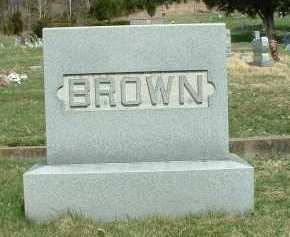 BROWN, MONUMENT - Meigs County, Ohio   MONUMENT BROWN - Ohio Gravestone Photos