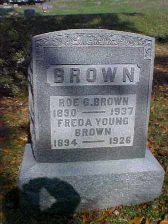 YOUNG BROWN, FREDA - Meigs County, Ohio | FREDA YOUNG BROWN - Ohio Gravestone Photos