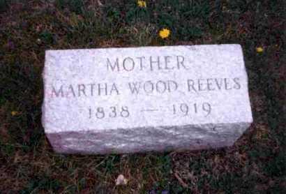 BROWNLEE REEVES, MARTHA - Meigs County, Ohio | MARTHA BROWNLEE REEVES - Ohio Gravestone Photos