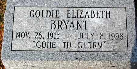 BRYANT, GOLDIE ELIZABETH - Meigs County, Ohio | GOLDIE ELIZABETH BRYANT - Ohio Gravestone Photos