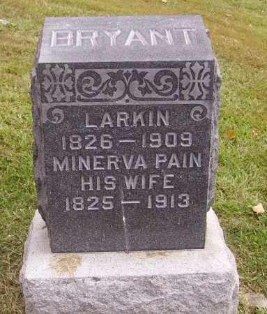 BRYANT, LARKIN - Meigs County, Ohio | LARKIN BRYANT - Ohio Gravestone Photos