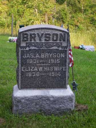 COOK BRYSON, ELIZA WORTHINGTON - Meigs County, Ohio | ELIZA WORTHINGTON COOK BRYSON - Ohio Gravestone Photos