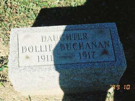 BUCHANAN, DOLLIE - Meigs County, Ohio   DOLLIE BUCHANAN - Ohio Gravestone Photos
