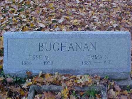 BUCHANAN, JESSE M. - Meigs County, Ohio   JESSE M. BUCHANAN - Ohio Gravestone Photos
