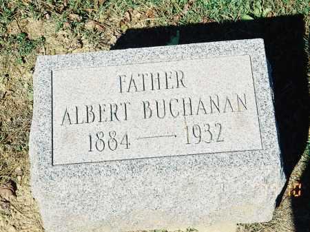 BUCHCANAN, ALBERT - Meigs County, Ohio | ALBERT BUCHCANAN - Ohio Gravestone Photos