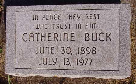 BUCK, CATHERINE - Meigs County, Ohio | CATHERINE BUCK - Ohio Gravestone Photos