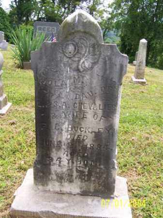 BUCKLEY, IOLA - Meigs County, Ohio | IOLA BUCKLEY - Ohio Gravestone Photos