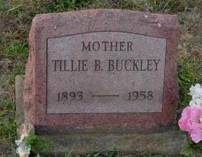 BUCKLEY, TILLIE B. - Meigs County, Ohio   TILLIE B. BUCKLEY - Ohio Gravestone Photos