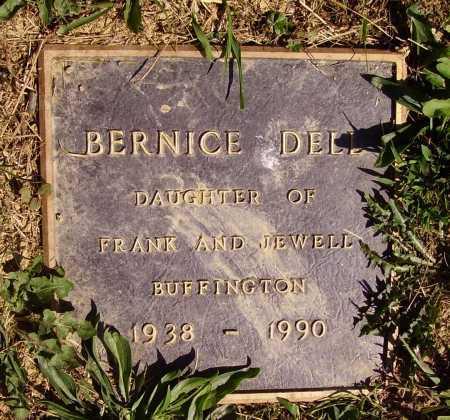BUFFINGTON, BERNICE DELL - Meigs County, Ohio | BERNICE DELL BUFFINGTON - Ohio Gravestone Photos