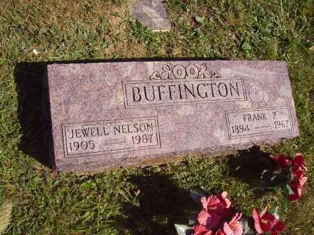 BUFFINGTON, JEWELL - Meigs County, Ohio | JEWELL BUFFINGTON - Ohio Gravestone Photos