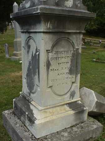 BUFFINGTON, JOSEPH F. - Meigs County, Ohio | JOSEPH F. BUFFINGTON - Ohio Gravestone Photos