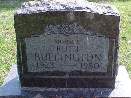 BUFFINGTON, RUTH - Meigs County, Ohio   RUTH BUFFINGTON - Ohio Gravestone Photos