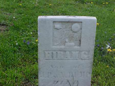 BUMP, HIRAM G. - Meigs County, Ohio | HIRAM G. BUMP - Ohio Gravestone Photos