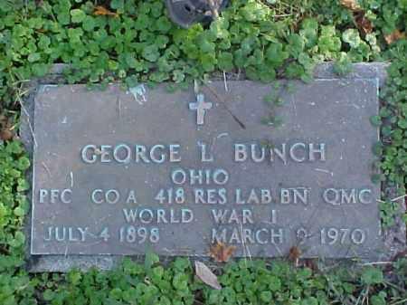 BUNCH, GEORGE L. - Meigs County, Ohio | GEORGE L. BUNCH - Ohio Gravestone Photos