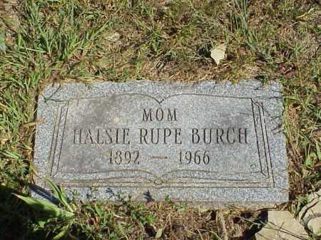 FOLDEN BURCH, HALSIE - Meigs County, Ohio | HALSIE FOLDEN BURCH - Ohio Gravestone Photos
