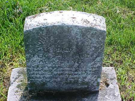 BURGESS, JOHN A. - Meigs County, Ohio   JOHN A. BURGESS - Ohio Gravestone Photos