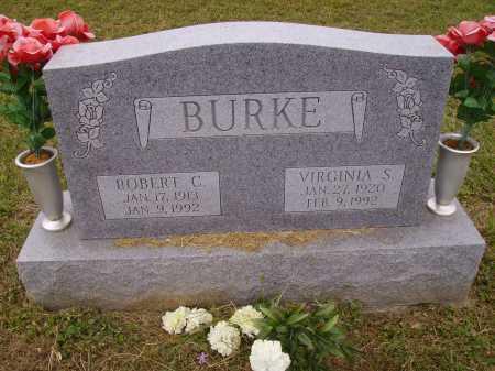 BURKE, ROBERT C. - Meigs County, Ohio | ROBERT C. BURKE - Ohio Gravestone Photos
