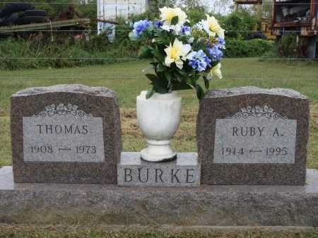 BURKE, RUBY A. - Meigs County, Ohio   RUBY A. BURKE - Ohio Gravestone Photos