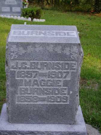 BURNSIDE, MAGGIE - Meigs County, Ohio | MAGGIE BURNSIDE - Ohio Gravestone Photos