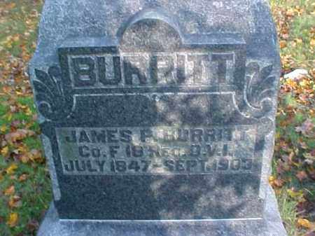 BURRITT, JAMES P. - Meigs County, Ohio | JAMES P. BURRITT - Ohio Gravestone Photos