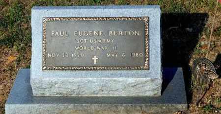 BURTON, PAUL EUGENE - Meigs County, Ohio   PAUL EUGENE BURTON - Ohio Gravestone Photos