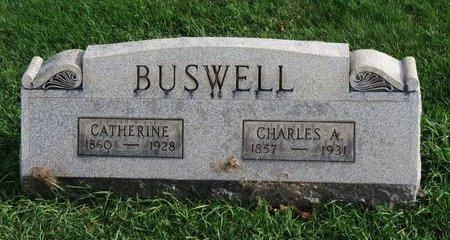 BUSWELL, CATHERINE - Meigs County, Ohio | CATHERINE BUSWELL - Ohio Gravestone Photos