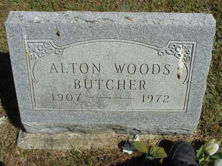 BUTCHER, ALTON WOODS - Meigs County, Ohio   ALTON WOODS BUTCHER - Ohio Gravestone Photos