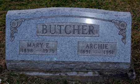 BUTCHER, MARY E. - Meigs County, Ohio | MARY E. BUTCHER - Ohio Gravestone Photos