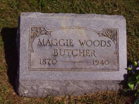 BUTCHER, MAGGIE - Meigs County, Ohio | MAGGIE BUTCHER - Ohio Gravestone Photos