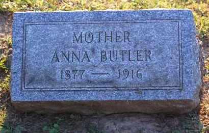 BUTLER, ANNA - Meigs County, Ohio | ANNA BUTLER - Ohio Gravestone Photos