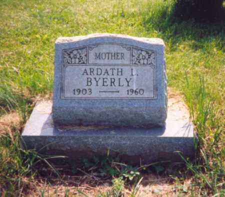 LYNCH BYERLY, ARDATH - Meigs County, Ohio | ARDATH LYNCH BYERLY - Ohio Gravestone Photos