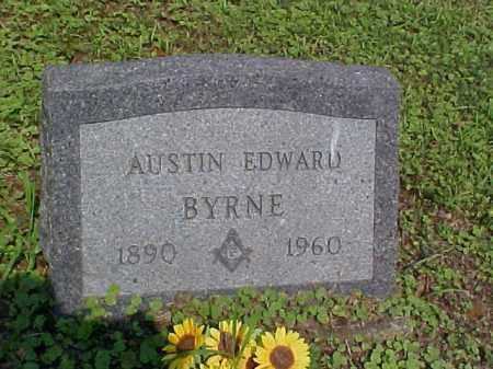 BYRNE, AUSTIN EDWARD - Meigs County, Ohio | AUSTIN EDWARD BYRNE - Ohio Gravestone Photos